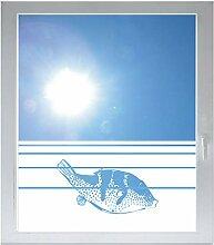 INDIGOS UG Sichtschutzfolie Glasdekorfolie
