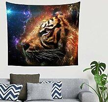 Indisch Fantasie Tiger Stern Nebelfleck Galaxie