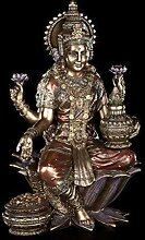 Indische Götter Figur - Lakshmi | Buddha Hindu