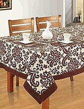 Indische Multicolor Baumwolle Frühling Blumen Tischdecken Tische 152 X 228 CM, einschließlich Läufer & Servietten