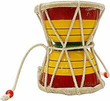 Indische Musikinstrumente Damaru Meditation Kirtan Shiv Damroo Schlagzeug