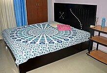 indischen Bettunterlagen Hippie Mandala Wandbehang