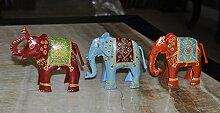 indischen Eisen Deko Elefant Skulptur Figur für