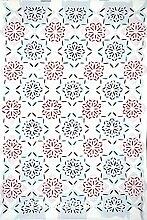 indischen Patchwork Wandbehang Tapisserie Hippie, Gypsy, zum Aufhängen Überwurf Vintage Baumwolle Tagesdecke, Decke Picknick Beach Tabelle, Tischdecke, 137,2x 218,4cm.