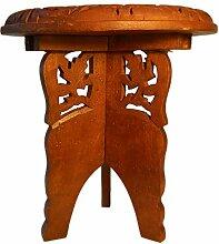 indischerbasar.de Blumentisch 41 x 38 cm Holz