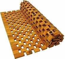 Indoba Badmatte 80 x 50 cm Holzbadmatte