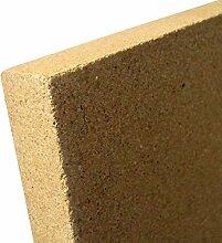 Indoba Vermiculit Platte SF1100-30 x 375 x 500 mm-IND-70722-VE302 Kaminzubehör, Natur