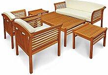 Indoba XL Premium Gartenmöbel Set 6-teilig