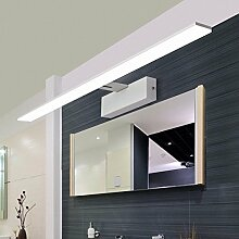 Indoor Edelstahl Bad Spiegel Schrank LED-Licht, Wohnzimmer wasserdichte Anti-Fog Wandleuchte, Bad Spiegel Lampen, weiß,82cm-weiß-Spiegelschrank