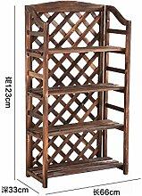 Indoor flower regal bücherregal mehrschichtige flower racks holz balkon blume xuan guan schuhe regal-A