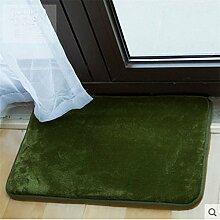 Indoor-matten/Wc-matte Vor Der Tür/Badezimmer-matten/Bodenmatte-D 100x190cm(39x75inch)