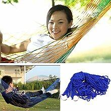 Indoor Outdoor Swing Nylon Stoff Hängematte Mesh