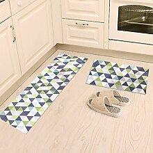 Indoor Teppichunterlage Teppich Tür Küche Badezimmer mit Schlafzimmer Sliver Pad Kind Badezimmer Türmatten Badematten Bodenmatten , Fußmatten ( Farbe : B , größe : 40 x 60 cm )