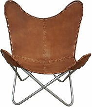 Indoortrend.com Butterfly Chair Sessel Vintage