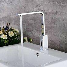 Induktion heißen und kalten Wasserhahn Bad