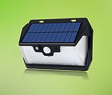 Induktions-Wandlampe Solar-USB Camping