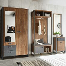 Industrial-Design Flur Garderoben Set mit