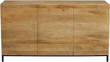 Industrial-Sideboard YPSTER 3 Türen aus aus