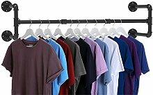 Industrie-Rohr-Kleiderständer, robust, abnehmbar,