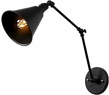 Industrie Vintage Wandlampe mit Schalter Innen