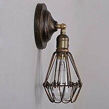 Industrielle Retro- Wandlampe,