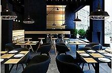Industrielle Stil erinnert an die einzelnen Leiter Kronleuchter kreative American Cafe Bar Lounge Deckel Single Head/35,5 X 35 cm Kronleuchter