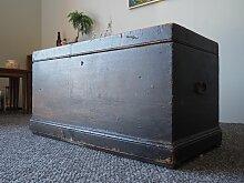 Industrielle Vintage Holztruhe