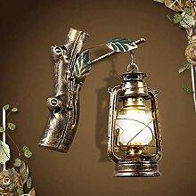 Industrielle Vintage Wandlampe,