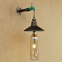 Industrielle Vintage Wandlampe Industrielle Shisha
