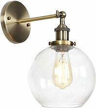 Industrielle Vintage Wandlampe mit