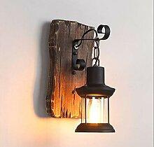 Industrielle Vintage-Wandleuchte, einzelnes Licht,