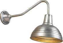 Industrielle Wandlampe Antik Zink - Tay