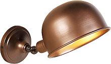 Industrielle Wandlampe antikes Kupfer - Spey