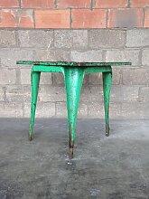 Industrieller Tisch von Joseph Mathieu für
