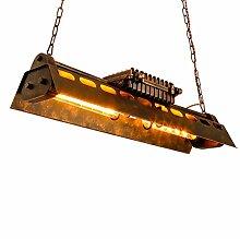 Industrieller Wind Retro-Nostalgie Restaurant Kronleuchter Lampe schmiedeeiserne Lampen