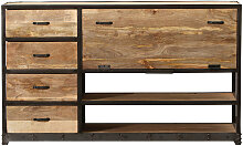 Industrielles Design-Sideboard INDUSTRIA aus