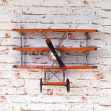 Industrielles Wandregal Wand Dekorationen / LOFT Retro Flugzeug Styling Regal Iron Retro Style Dekorative Anhänger Industrial Style Wandregale