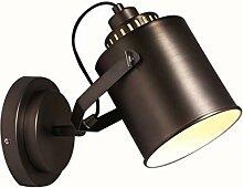 Industriestil Schmiedeeisen Wandlampe Retro