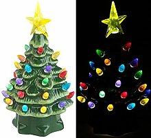 infactory Leuchtdeko: Deko-Weihnachtsbaum aus