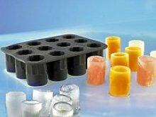 Infactory Silikon Eisform für 12 Schnapsgläser