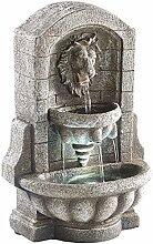 infactory Tisch-Brunnen: Beleuchteter