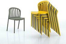 infiniti MY WAY Design-Stuhl Anthrazit