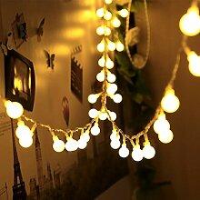 infinitoo Lichterkette 10 m 100 LED Glühbirne