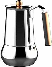 Infinity Chefs Edelstahl Espressokocher Tassen