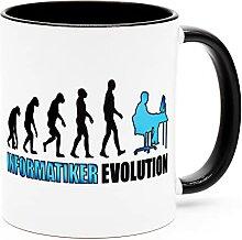 Informatiker Tasse Becher Kaffeetasse Computer
