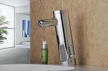Infrarot Armatur (Warm Kalt) Automatik Wasserhahn IR Waschbecken + Gäste WC
