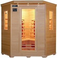 Infrarotkabine / Wärmekabine / Sauna - ECK ! für 4 Personen SONDERAKTION