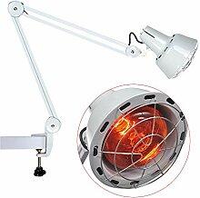 Infrarotlampe, rotlichtlampe wärmelampe