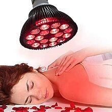 Infrarotlampe Wärmelampe, Rotlichtlampe,18 LED