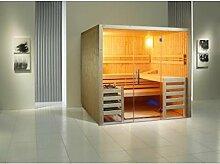 Infraworld Sauna Opal 210 x 210 cm Fichte